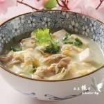 鲜美极致的海蛎子豆腐汤