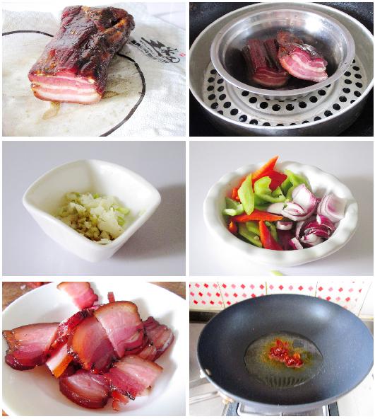 超级下饭的香辣回锅腊肉