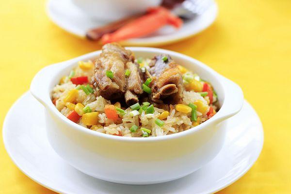 腊排骨糯米饭