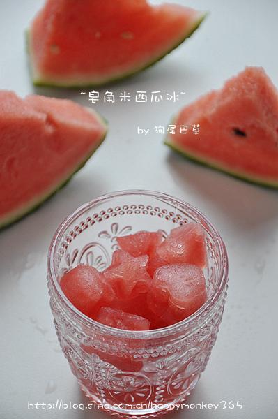 【皂角米酸梅冰&皂角米西瓜冰】