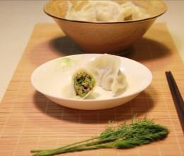 怪味道的茴香菜菜饺