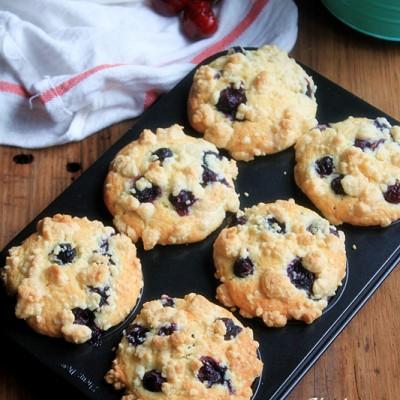 天时地利人和才吃到的----PH蓝莓麦芬