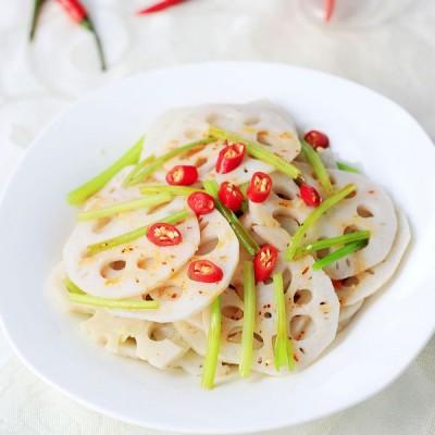 夏季开胃小菜——芹香藕片