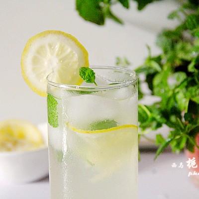 让这个夏天凉爽起来---薄荷柠檬蜂蜜饮