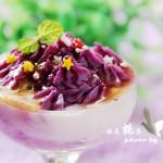 #花蜜醋养碱生活#奶香浓郁的紫薯山药泥