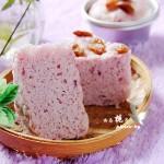 粗粮细作,营养美味的紫薯发糕