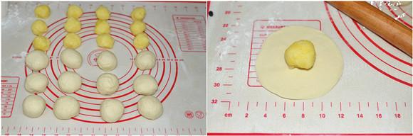 跟宝贝一起玩面团----Hellokitty奶黄包