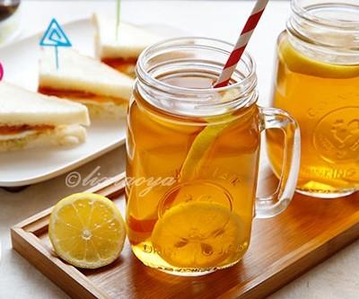 生姜柠蜜红茶饮&蜜渍柠檬