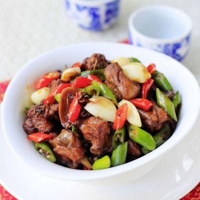搭配米饭的超级下饭菜——蒜香鸭