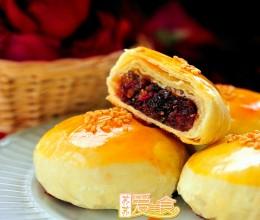 #试用团#无敌香艳美味的鲜花饼——附玫瑰酱做法