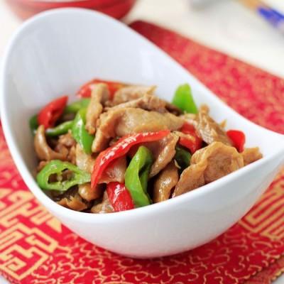 大米饭的好绝配萝卜干炒肉