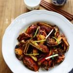 中秋家宴怎能少了大闸蟹——姜葱炒大闸蟹