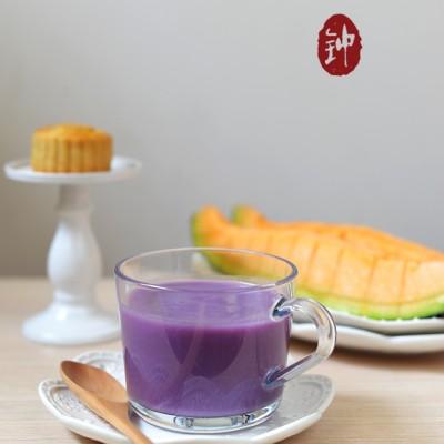 一碗剩米饭的春天【紫薯米糊】