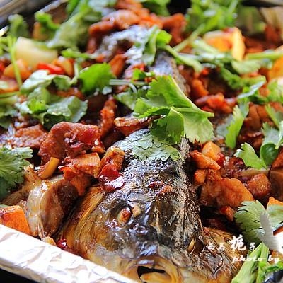 秋季吃鱼正当时----香辣烤鱼
