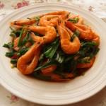 超级快手下饭菜---《韭菜爆鲜虾》