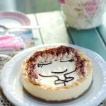【杏仁冻芝士蛋糕】免烤的快手芝士蛋糕