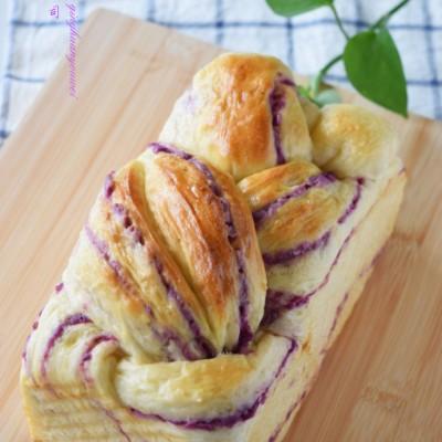 紫色的诱惑之【紫薯吐司】