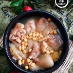媲美熊掌的美味佳肴黄豆猪蹄汤