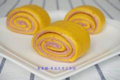【南瓜紫薯双色卷】喜庆金秋丰收季