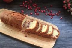 秋的味道---【石榴磅蛋糕】&巧剥石榴的方法
