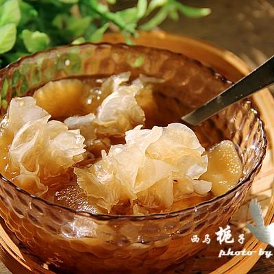 苹果银耳红糖水一款适合女性的滋补品