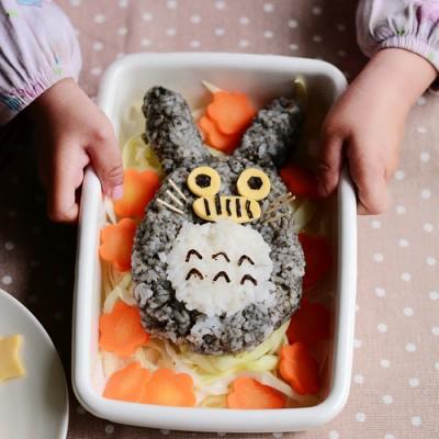 龙猫便当哄孩子吃饭的早餐萌物