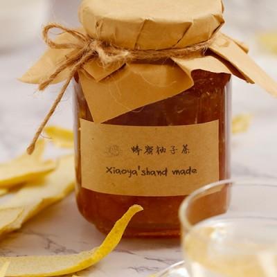 煮一瓶浑身是宝的蜂蜜柚子茶
