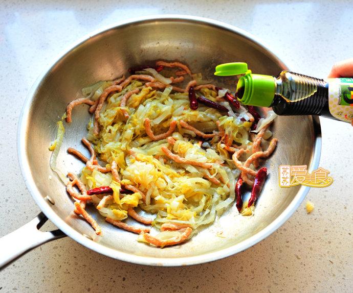 鲜辣爽口的快手下饭菜——酸菜粉儿