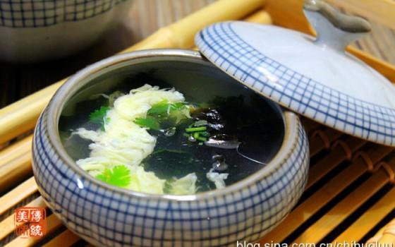 【紫菜蛋花汤】五分钟做好一碗温暖汤水