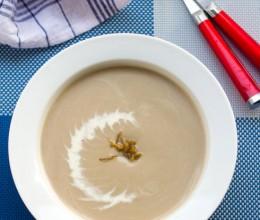 【蘑菇奶油浓汤】喝出美味小情调