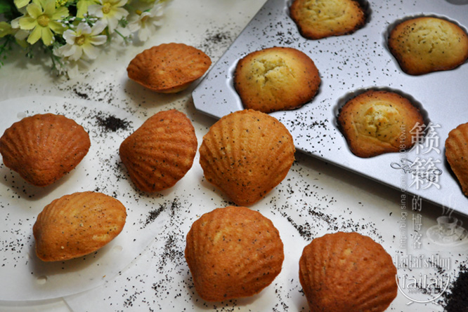 【红茶蜂蜜玛德琳蛋糕】遭哄抢的家庭聚会小甜点!
