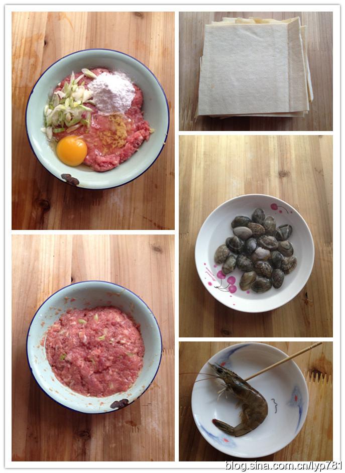 海鲜百叶包汤