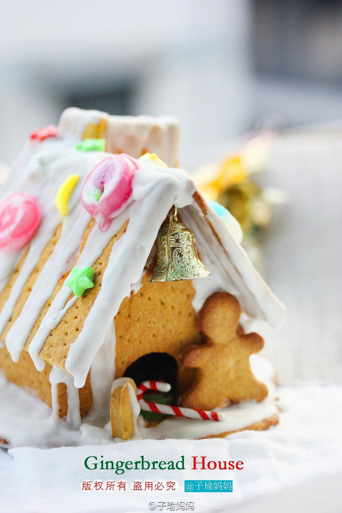 圣诞节必不可少--姜饼屋