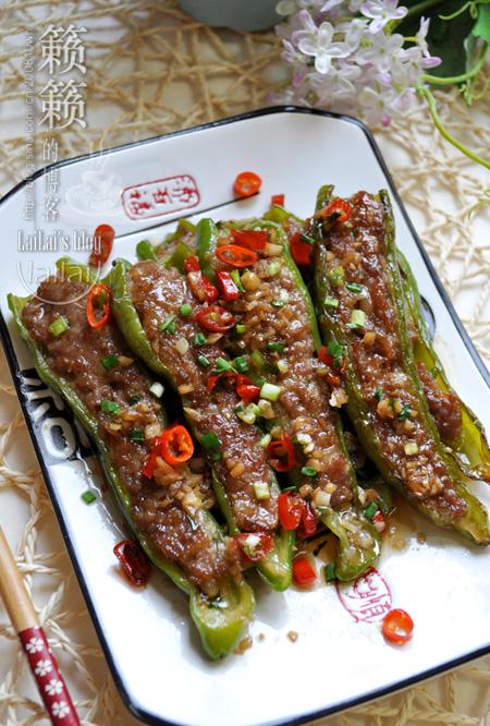 【蚝油酿辣椒】一盘家常酿菜的风情演绎!
