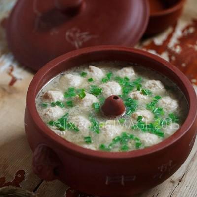 【汽锅肉丸子】有温度的冬季暖锅菜