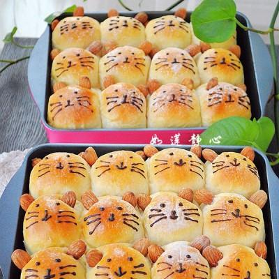 假期亲子烘焙【超萌卡通面包】