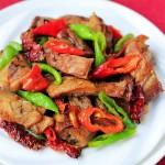 #八珍盛宴#醇厚醇香的辣炒卤鸭