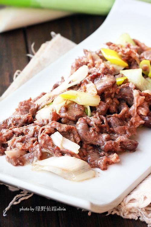 冬吃羊肉?家常蔥爆羊肉做法——【蔥爆羊肉】