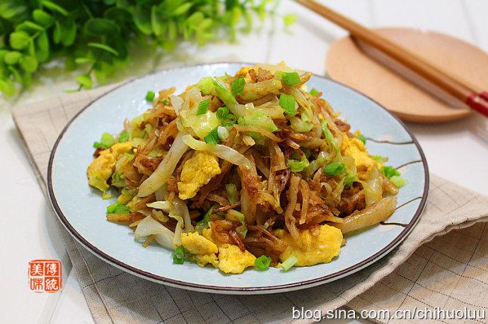 【家常炒饼】10分钟主食与菜一起上桌