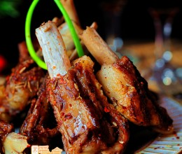 #八珍盛宴#秘制酥嫩脱骨羊排——过年吃羊喜气洋洋