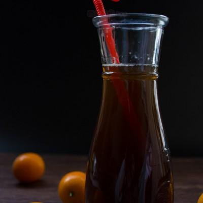 #八珍盛宴#寒流侵袭时的暖身金桔红糖水