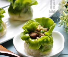 #八珍盛宴#主食篇:招财进宝蒸蒸日上,翡翠白玉烧麦!
