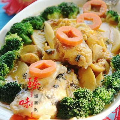 #八珍盛宴#百福臻味迎新队之金汤鮰鱼