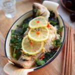 2016舌尖上的新年家宴(年年有余)泰式明炉柠檬鲈鱼