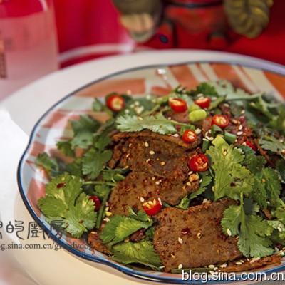 春节家宴的美味冷盘【干拌牛肉】
