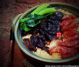 八珍盛宴-------烤箱版腊肉香肠煲仔饭