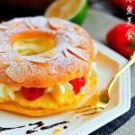 #八珍盛宴#圆圆满满的【泡芙甜甜圈】