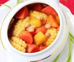 #八珍盛宴#大餐之后,人见人爱减肥又营养的大丰收汤