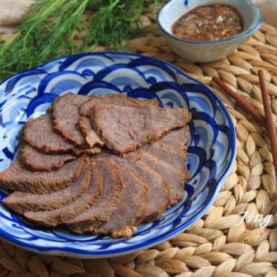 牛肉最原香的吃法----家常酱牛肉