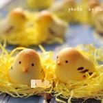 春天萌翻天的小雞和果子——萌爆了的人氣甜品